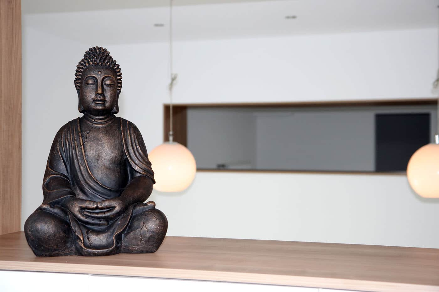 Buddha im Studio InMotion - Yoga -Pilates in Lüdinghausen