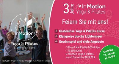 Tag der offenen Tür Yoga & Pilates Lüdinghausen