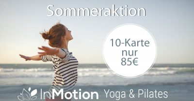Yoga Sommer-Sonnen-Aktion
