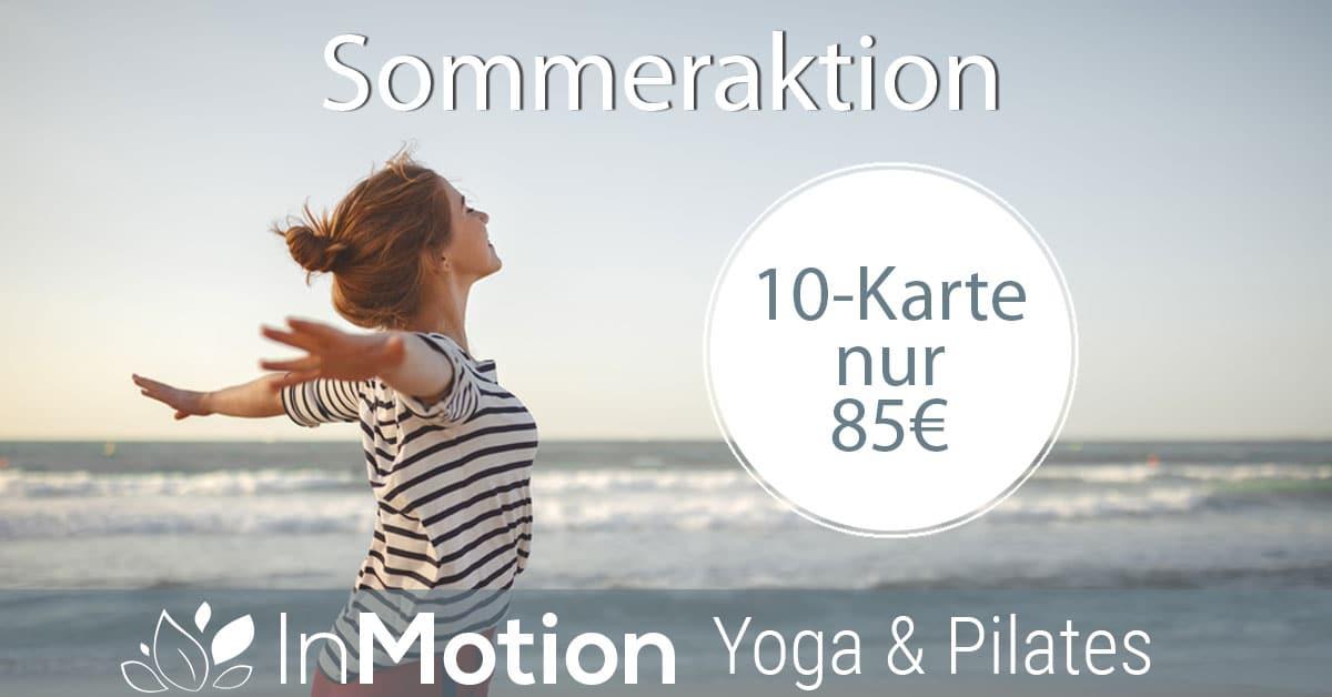 Yoga Sommer-Sonnen-Aktion