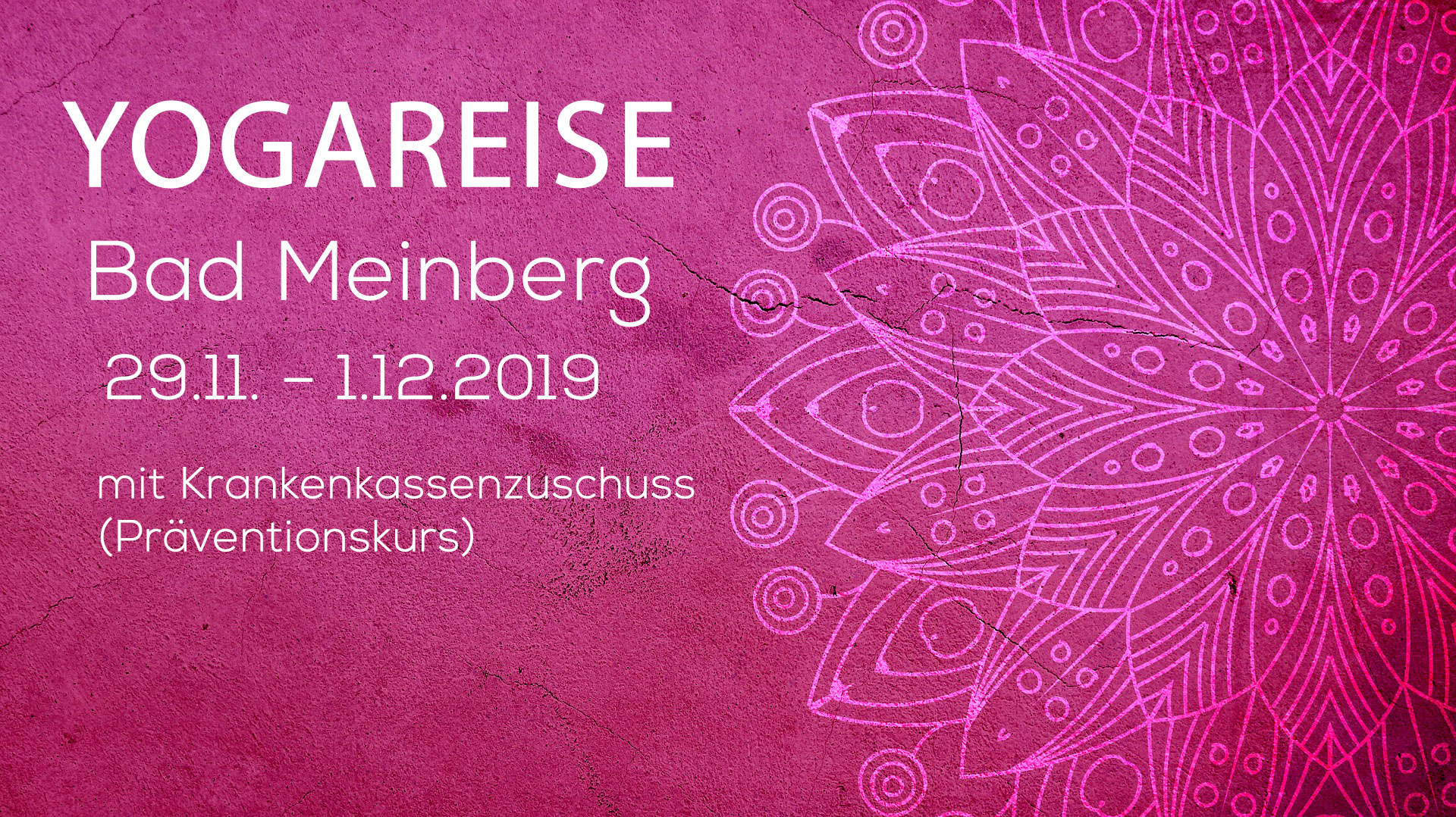 Yogareise nach Bad Meinberg